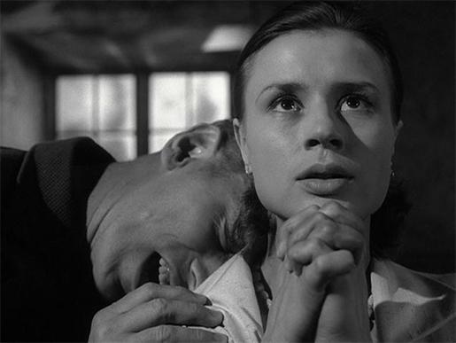 A través del cristal oscuro de Ingmar Bergman